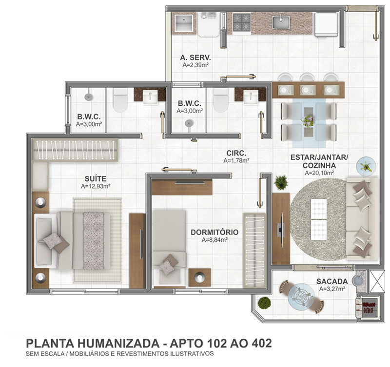 Planta 102 AO 402