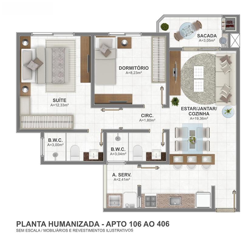 Planta 106 AO 406